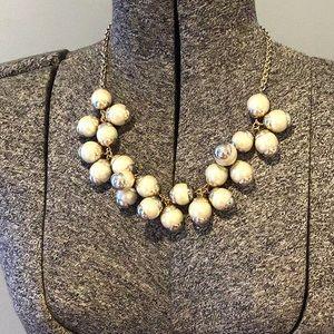 JCrew bauble necklace -bubble necklace - old stock